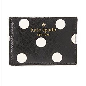 Kate Spade Cedar Street Dot Card Holder